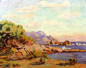 La Pointe du Lou Gaou - Armand Guillaumin reproduction oil painting