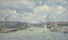 Le Port de Charenton 1878 - Armand Guillaumin