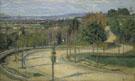 Les Environs de Paaris c1873 - Armand Guillaumin reproduction oil painting