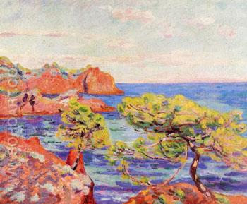 Le Trayas c1907 - Armand Guillaumin reproduction oil painting