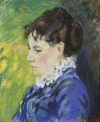 Madame Guillaumin 1894 - Armand Guillaumin reproduction oil painting
