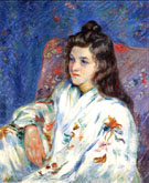 Mademoiselle Guillaumin 1901 - Armand Guillaumin reproduction oil painting