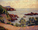 Midday Landscape 1905 - Armand Guillaumin reproduction oil painting