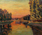 Moret July 1902 - Armand Guillaumin reproduction oil painting