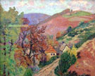 Mountain Landscape 1895 - Armand Guillaumin reproduction oil painting