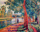 Near Moret - Armand Guillaumin reproduction oil painting