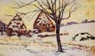 Palaiseau Snow Effect 1883 - Armand Guillaumin