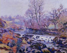 Pont Charraut Matin - Armand Guillaumin reproduction oil painting