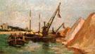 Quai de Bercy c1880 - Armand Guillaumin reproduction oil painting