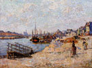 Quai de Bercy c1881 - Armand Guillaumin reproduction oil painting