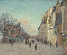 Quai de La Gare Effect de Neige 1873 - Armand Guillaumin