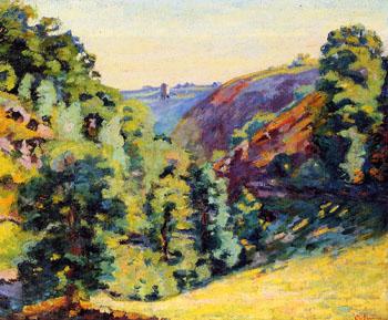 Ravine de La Sedalle Folly - Armand Guillaumin reproduction oil painting