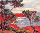 Red Rocks - Armand Guillaumin