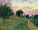 Road at Damiette 1885 - Armand Guillaumin reproduction oil painting