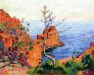 Rocks at Trayas 1915 - Armand Guillaumin