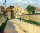 Rue de Clamart at Vanves 1873 - Armand Guillaumin reproduction oil painting