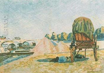 Siesta - Armand Guillaumin reproduction oil painting