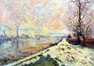 Snowmelt in Rouen 1901 - Armand Guillaumin