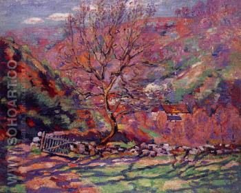 Solitude Crozant - Armand Guillaumin reproduction oil painting