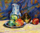Still Life with Apples - Armand Guillaumin reproduction oil painting