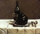 Still Life with Casserole 1867 - Armand Guillaumin reproduction oil painting