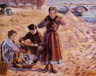 The Little Thieves 1885 - Armand Guillaumin