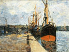 The Quay at Rouen 1882 - Armand Guillaumin