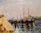 The Quay dAusterlitz Morning c1886 - Armand Guillaumin reproduction oil painting