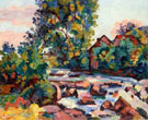 The Rock at Bouchardon - Armand Guillaumin