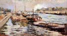 The Seine 1867 - Armand Guillaumin