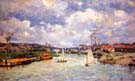 The Seine River at Charenton 1878 - Armand Guillaumin
