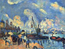 The Seine at Bercy - Armand Guillaumin