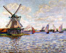 Windmills in Holland - Armand Guillaumin