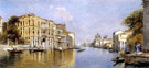 Canal Grande Venecia - Antonio Maria De Reyna Manescau reproduction oil painting