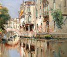 Enchamting Venice A - Antonio Maria De Reyna Manescau reproduction oil painting