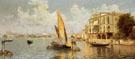 The Grand Canal - Antonio Maria De Reyna Manescau