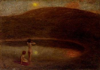 Echo - Edward Stott reproduction oil painting
