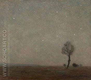 Starlight Landscape - Edward Stott reproduction oil painting