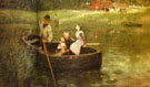 The Ferry 1887 - Edward Stott reproduction oil painting