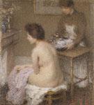 After the Bath - Ernest Joseph Laurent