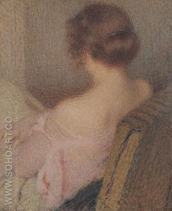 Beautiful Shoulders 1920 - Ernest Joseph Laurent reproduction oil painting