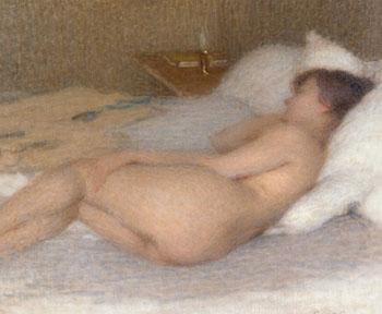 Femme Nue 1915 - Ernest Joseph Laurent reproduction oil painting