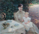 In the Garden 1904 - Ernest Joseph Laurent reproduction oil painting