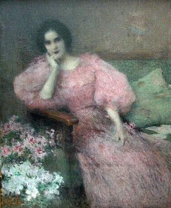 La Comtesse Lovatelli 1896 - Ernest Joseph Laurent reproduction oil painting