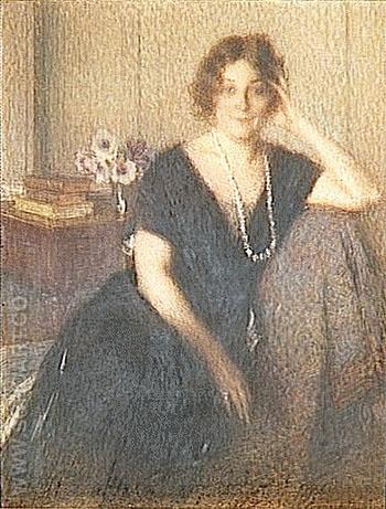 Madame Revelin 1913 - Ernest Joseph Laurent reproduction oil painting