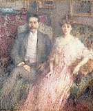 Monsieur et Madame Paul Jamot 1907 - Ernest Joseph Laurent