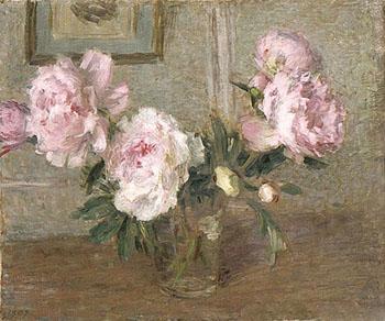 Pivoines Chinoises 1907 - Ernest Joseph Laurent reproduction oil painting