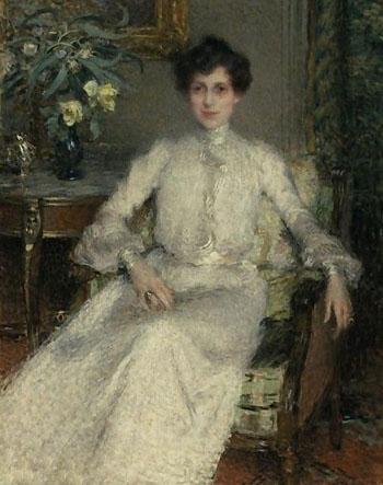 Portrait of Madame Bing - Ernest Joseph Laurent reproduction oil painting