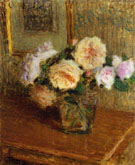 Vase of Roses 1918 - Ernest Joseph Laurent