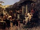 Christ and the Children 1894 - Franck Kirchbach
